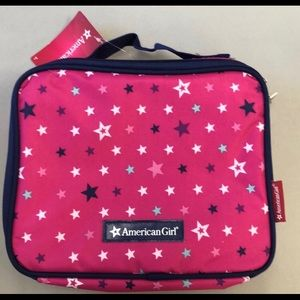 American Girl insulated lunch box NWT